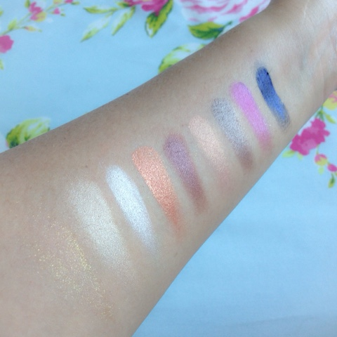 Too Faced A La Mode Eyes Eyeshadow Palette Swatches