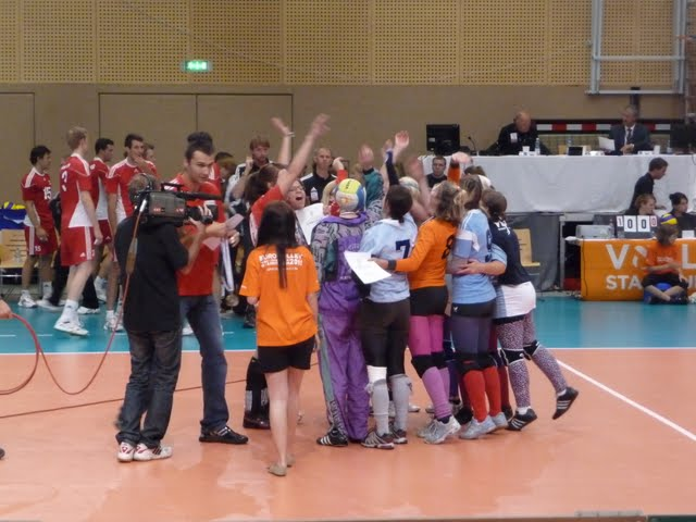 Landesmeisterehrung beim Länderspiel Ö-GRIE in Steyr