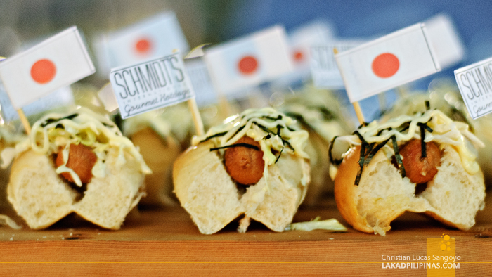 Schmidt's Gourmet Hotdogs at Foodgasm III in Mercato Centrale