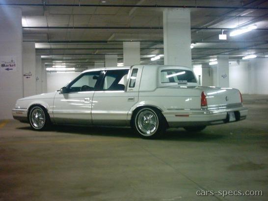 1992 chrysler new yorker sedan specifications pictures for 1990 chrysler new yorker salon