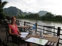 Sundowners in Vang Vieng