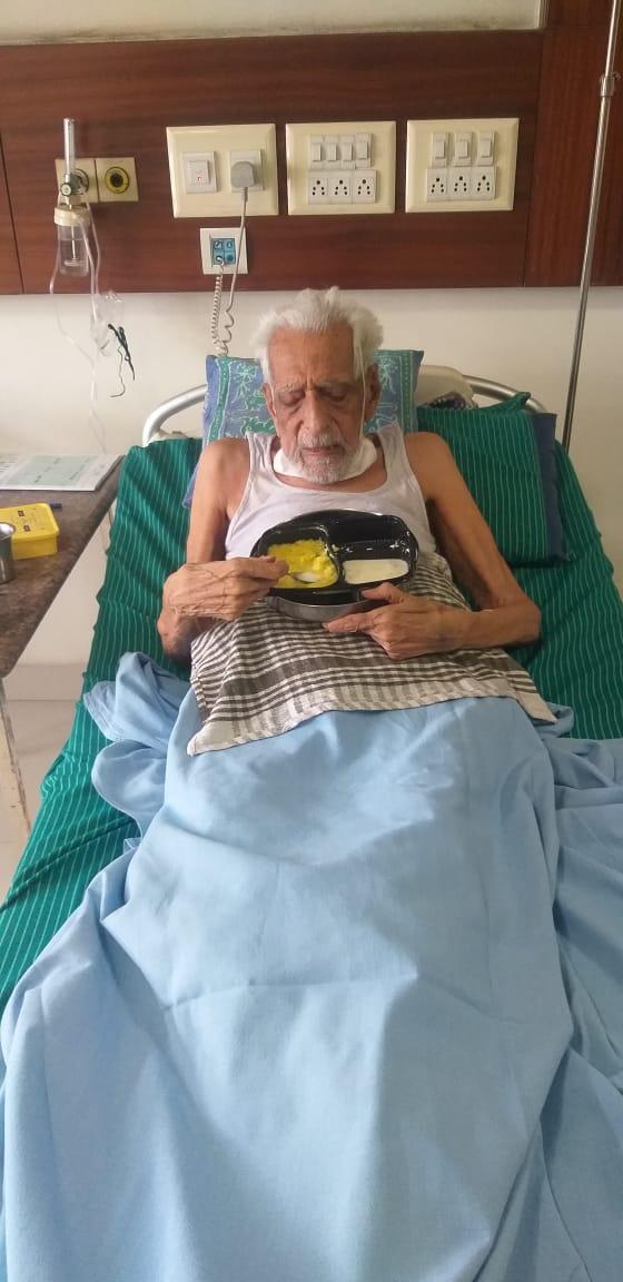 Covid Hero | ಕೊರೋನಾ ಗೆದ್ದ 104 ವರ್ಷದ ಹಿರಿಜೀವ: ಹೀರೋ ಆದ ದೊರೆಸ್ವಾಮಿ