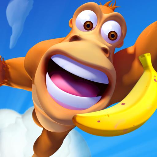 Banana Kong Blast Icon