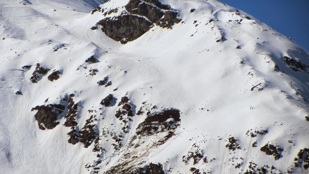 Avalanche Haute Tarentaise, secteur Aiguille Rouge, Entre Grandes Pentes et Couloir en S - Photo 1