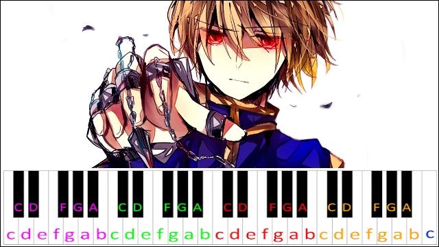 Elegy Kurapika S Theme Hunter X Hunter Piano Letter Notes