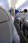 En route to Warsaw from Frankfurt