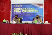 Pimpin Pencanangan Zona Integritas WBK/WBBM, Ini Kata Wakapolda Sulteng