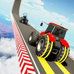 Tractor Stunt Racing Games: Impossible Tracks 3D icon