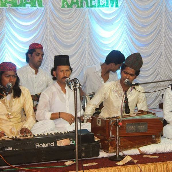 Qawwals performing at Sharib-Toshi's Iftaar party & Sufi Mehfil. (Pic: Viral Bhayani)
