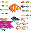 FREE Fish Themed Printable Pack