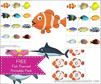 Fish Themed: FREE Printable Pack