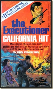 Mack Bolan Executioner #11 CALIFORNIA HIT - MensPulpMags.com