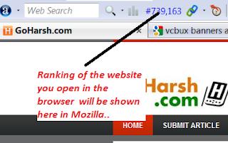 alexa web ranking