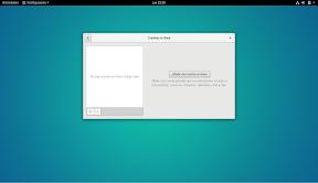 Como configurar GNOME con detalle. Configuración personal. Cuentas en línea. Opciones.