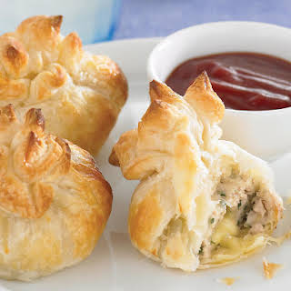 Chicken and Cheese Parcels.