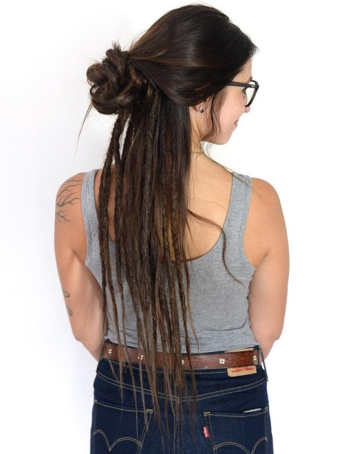 The Last Trendy Dreadlock Styles In Current Year For  woman 12