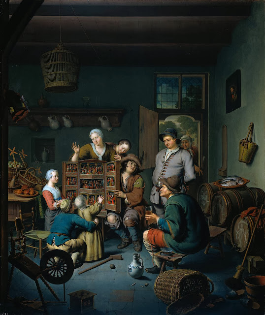 Willem van Mieris - The Peepshow