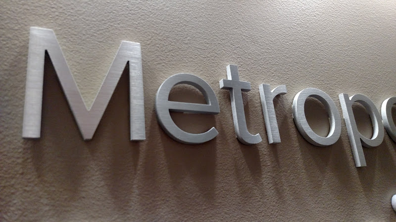 brushed aluminum letters mwcog designs signs With brushed aluminum dimensional letters