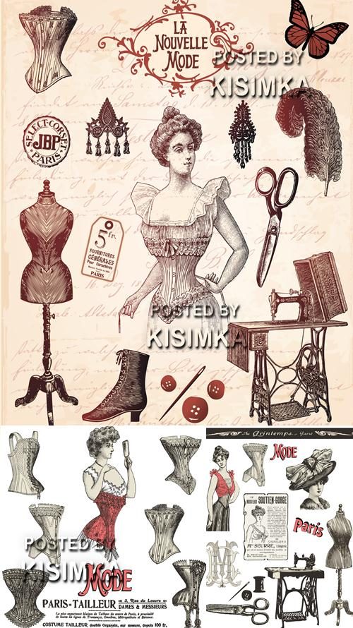 Stock: Tailoring of female corsets