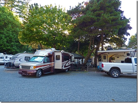 Indian Creek RV Park, Gold Beach, Oregon