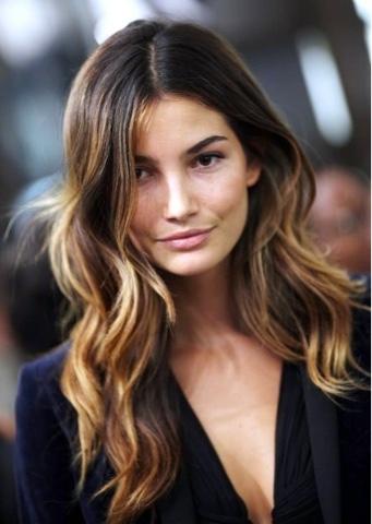 #cabelo #ondas #ondasnaturais #hair #wavyhair #naturalwaves #LilyAldridge #modelsbeauty