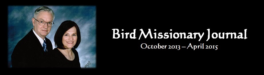 Bird Missionary Journal