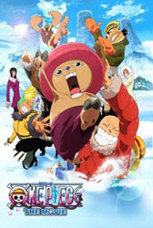 One Piece Pelicula 9: Episodio de Chopper, Flor en invierno, el milagro del cerezo