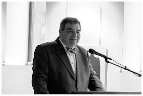 Bart Cras, voorzitter stichting Levend verleden Oost-Nederland.  Fotograaf: Cyril Wermers