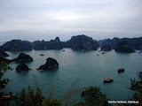 Mera utsikt över Halong Bay, taget från utsiktstornet.