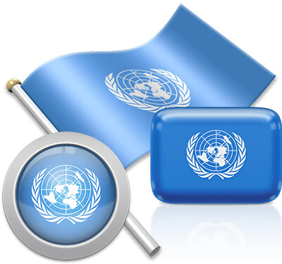United Nations flag icons pictures collection