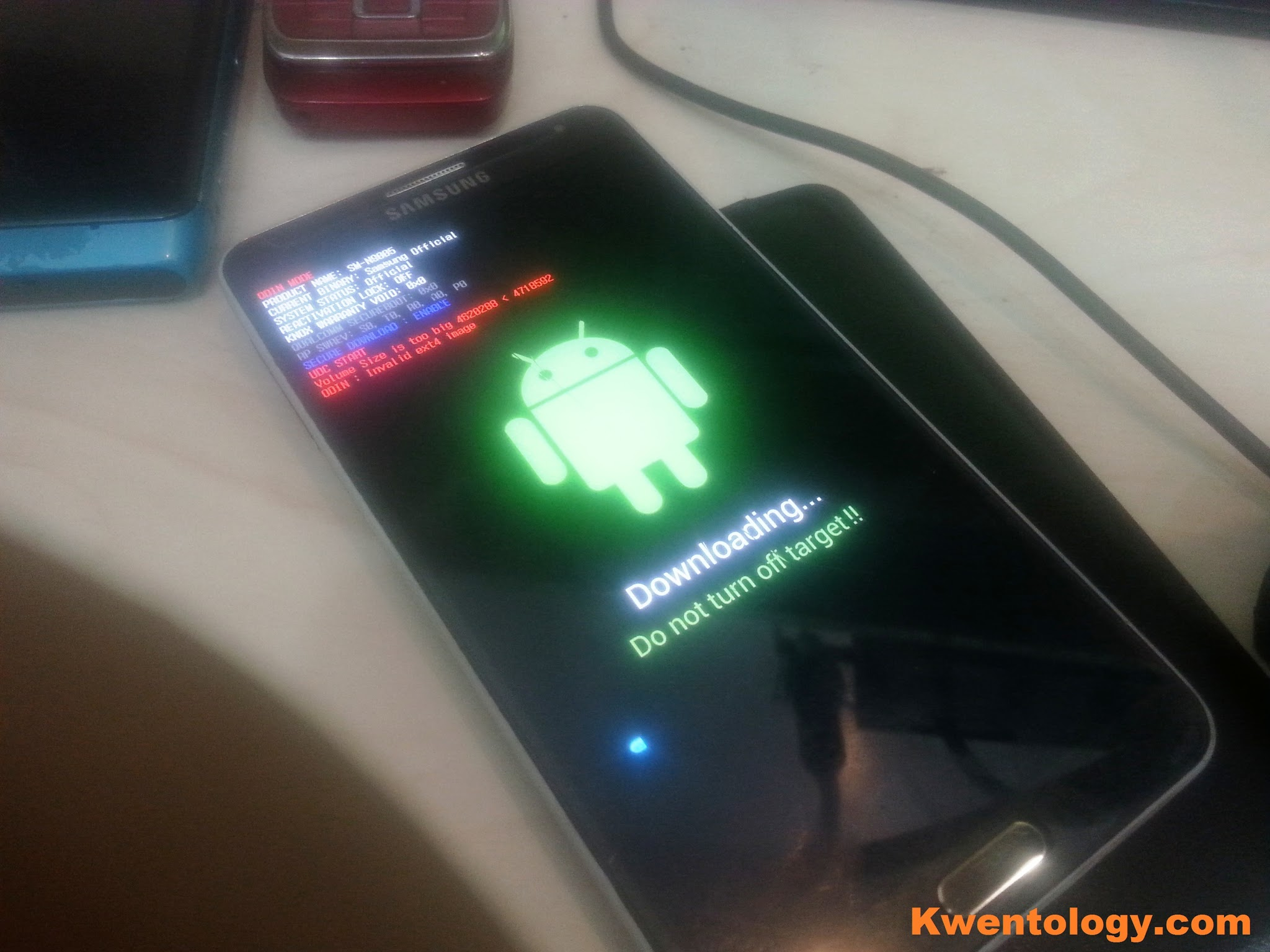 How to Flash Samsung Galaxy Note 3 N9005 LTE 32GB ~ Kwentology
