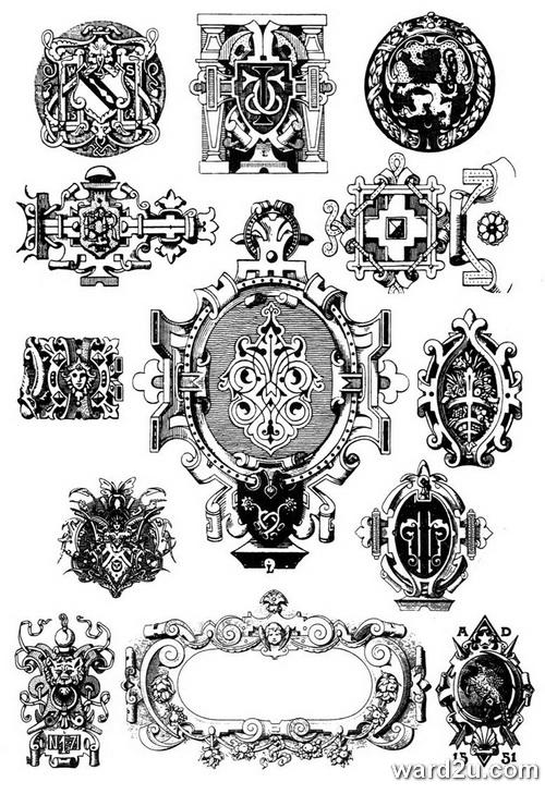 زخرفة كاملة متنوعة و شاملة - الصفحة 3 Барокко Орнамент
