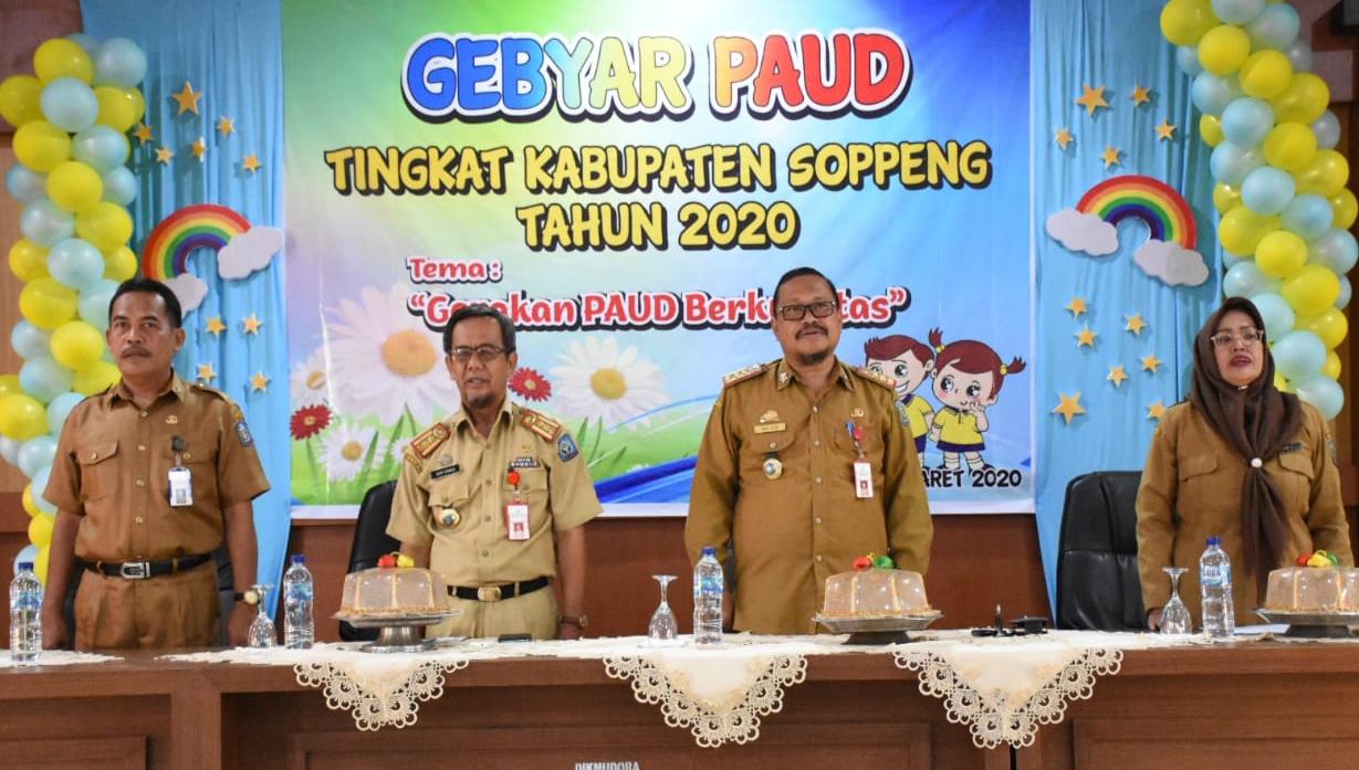 Gebyar PAUD Di Kabupaten Soppeng Merupakan Ajang Pemberi Motivasi dan Adu Kreatifitas