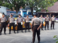 Satuan Sabhara Polres Kepulauan Selayar Gencar Patroli Jalan Kaki.