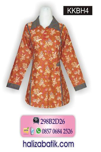 baju batik kantor wanita, jual batik online, desain baju batik modern