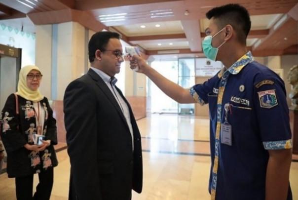 Gubernur Anies Gelontorkan Rp54 Miliar Menanggulangi Wabah Corona