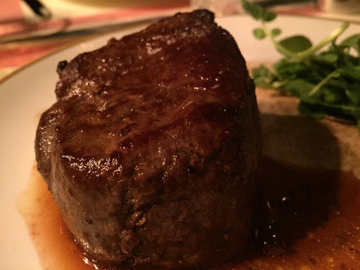 Chateaubriand served with truffle gravy