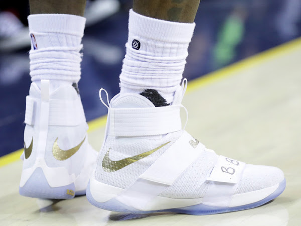 New White Soldier 10 Finals PE Sparks James Game 6 Performance