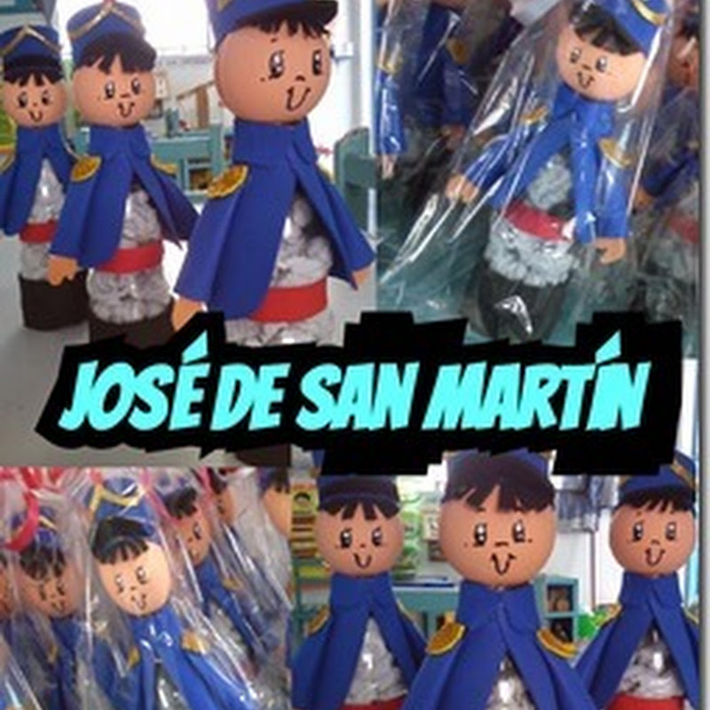 17 Agosto José de San Martin manualidades