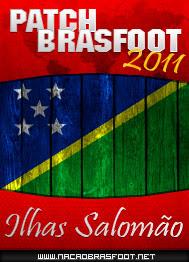 Patch Brasfoot 2011 - Ilhas Salomão