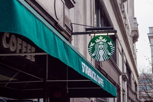 starbucks to trial 5p cup charge in storres