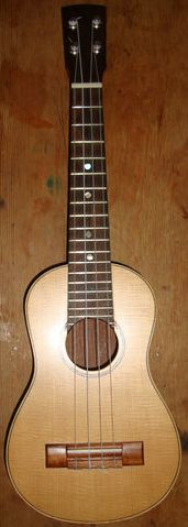 paul aguilera guitars soprano ukulele