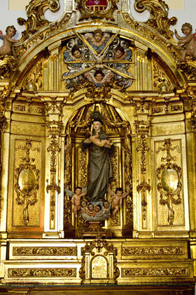 Restaurado el retablo de San Antonio de la iglesia de las Góngoras
