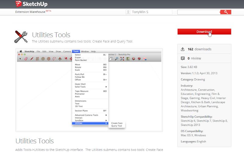 การติดตั้ง Extensions ให้กับ SketchUp 2013 และวิธีการแก้ปัญหาสำหรับ Extensions ที่ไม่ยอมทำงาน Su2013re29