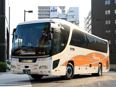 日ノ丸自動車「大山号」 ・639 20160514