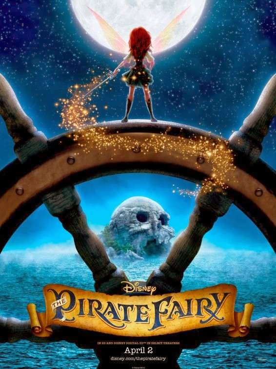 Poster Of English Movie The Pirate Fairy (2014) Free Download Full New Hollywood Movie Watch Online At Alldownloads4u.Com