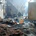 Fogo destrói fábrica de comida de peixes em Arraial do Cabo