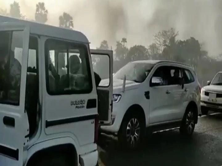 RJD के 'बिहार बंद' में फंस गए CM नीतीश के ये मंत्री, पुलिस ने बड़ी मशक्कत ने निकाली गाड़ी