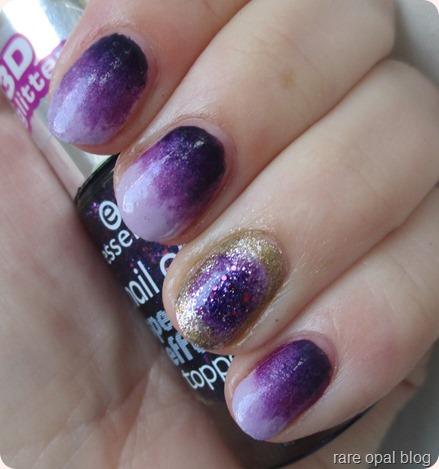 Amethyst nails birthstone purple nailart