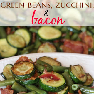 Green Bean, Zucchini and Bacon